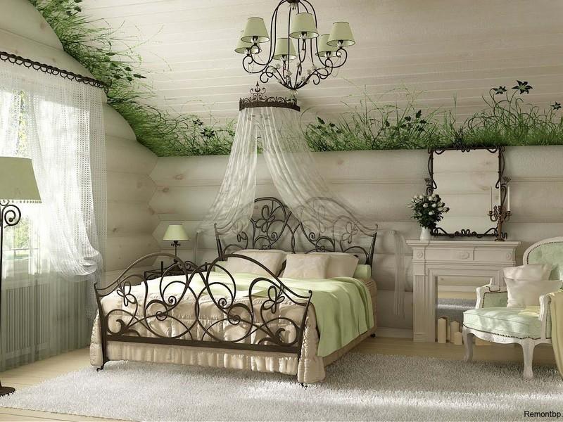 Зеленый цвет в Кантри