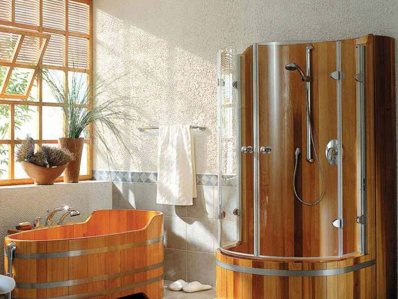 Мебель для ванной комнаты кантри