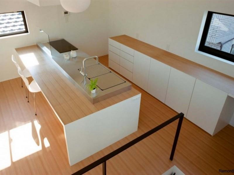 Отделка кухни в стиле минимализм