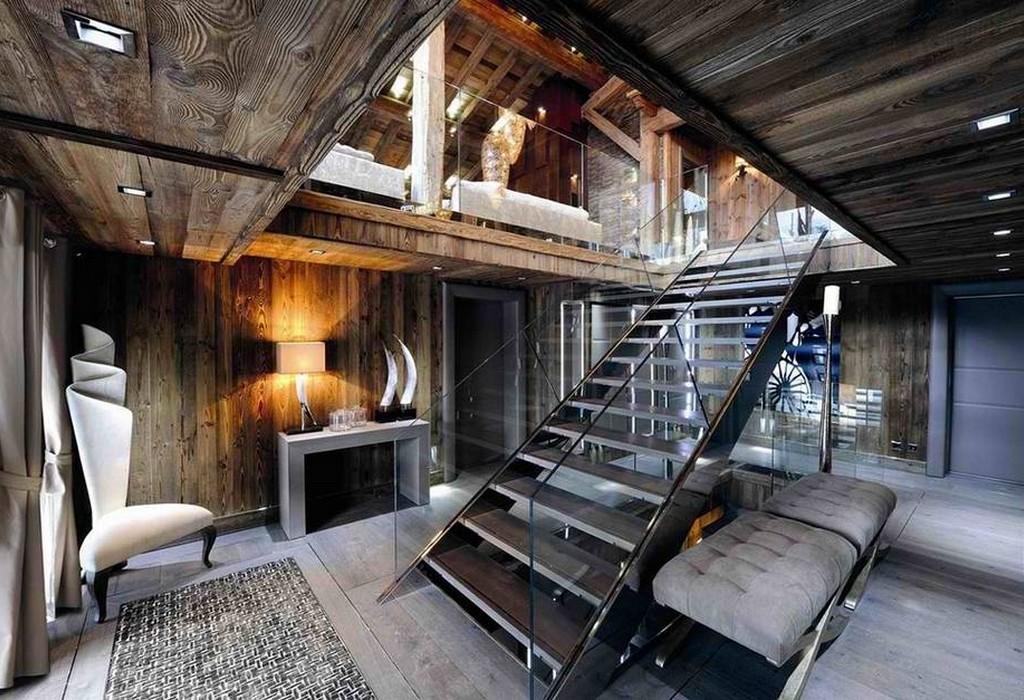 Ультра современный дом в стиле кантри