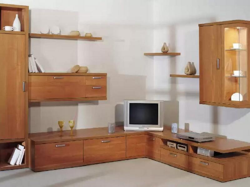 Угловые шкафы для гостиной мебель
