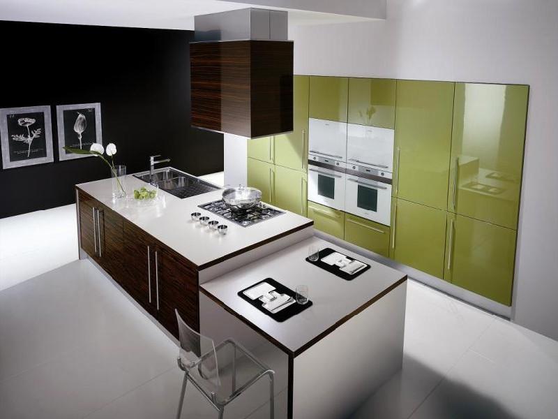 Дизайн кухни модерн фото в интерьере