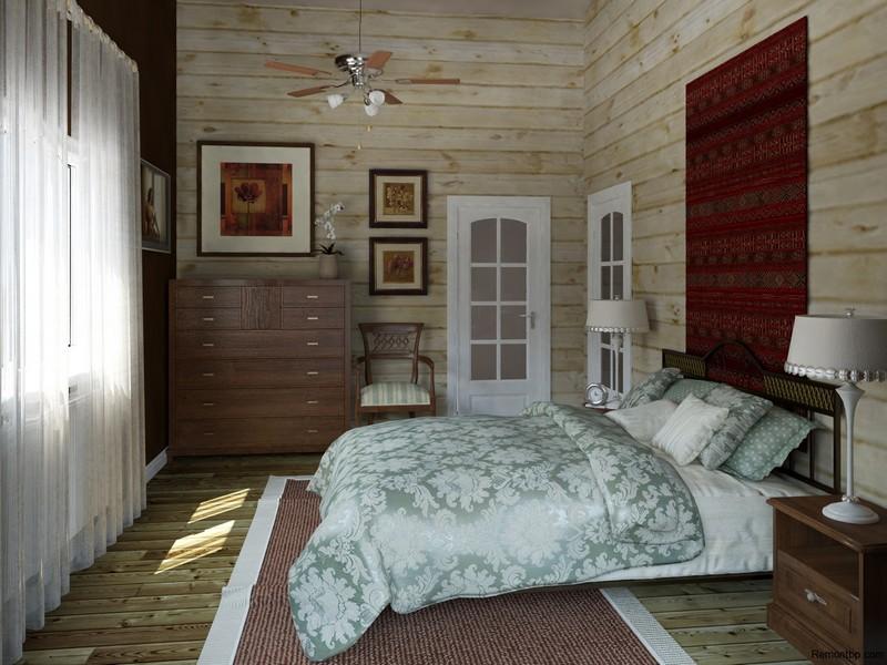Кантри стиль в интерьере: кухня, гостиная, спальня и ванная