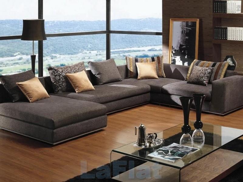 Дизайн гостиной с мягкой мебелью