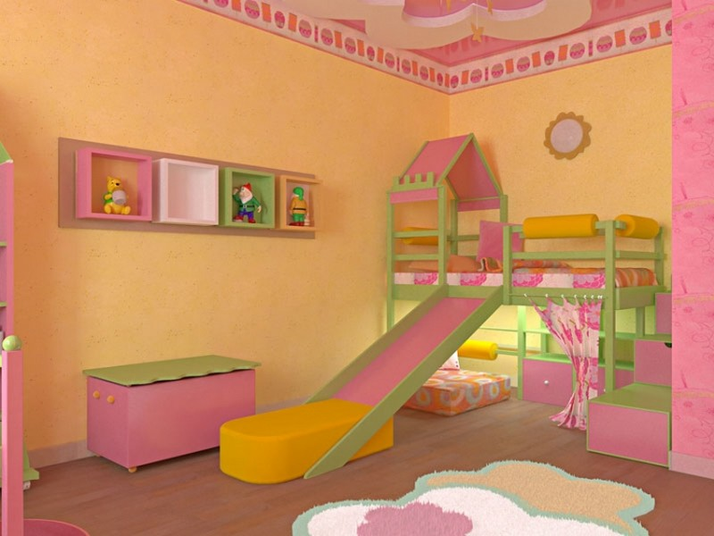 Выбор мебели для детской комнаты: мебель для мальчика и дево.
