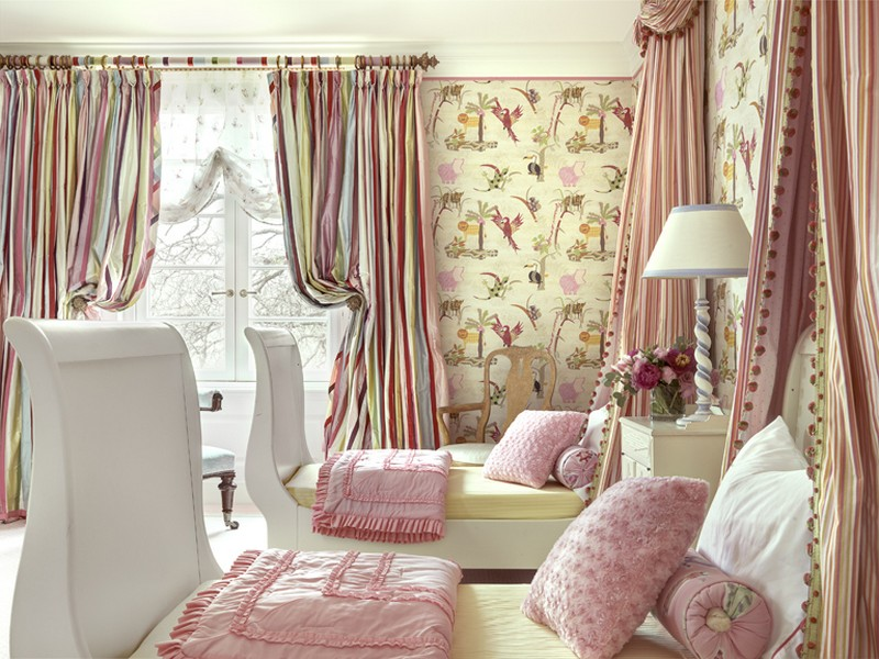 Дизайн комнаты для двух девочек фото