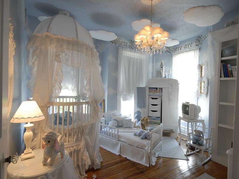 Современные детские комнаты для девочек