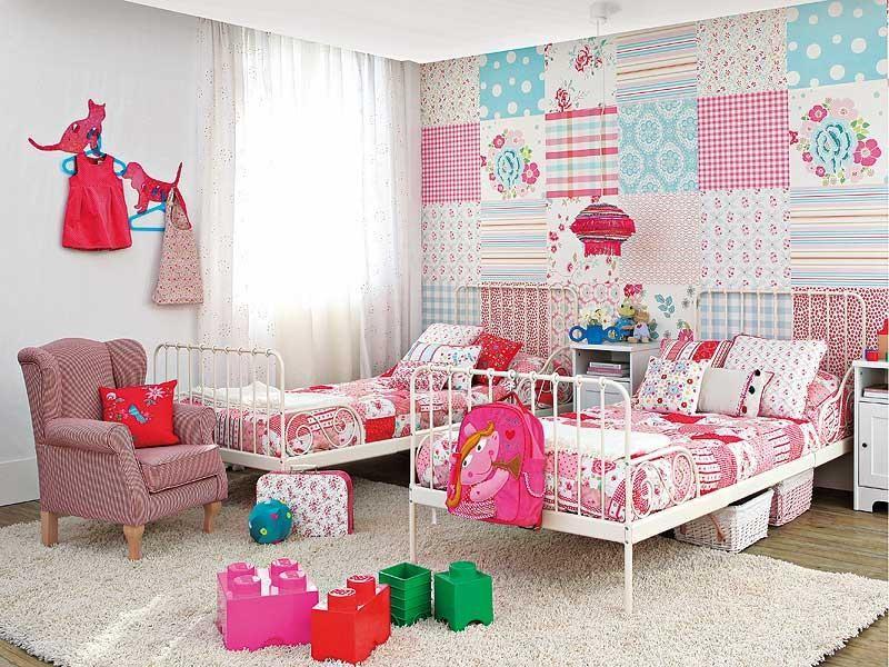 Дизайн детской для 2 девочек