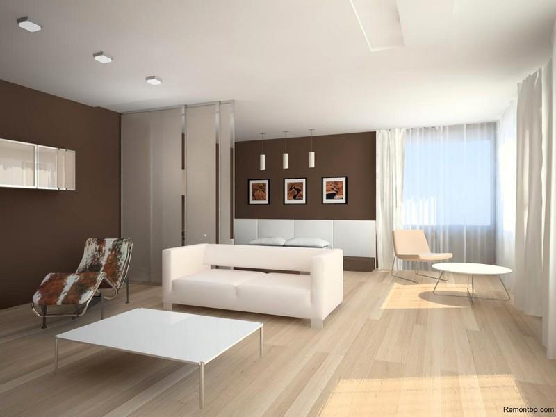 Гостиная минимализм