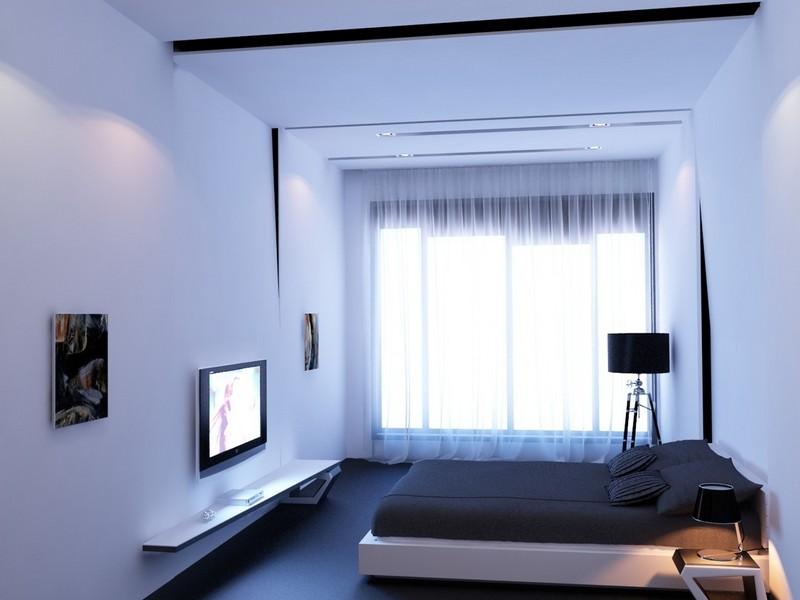 Спальня минимализм фото