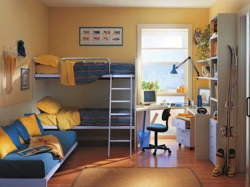 Пример комнаты для двух мальчиков