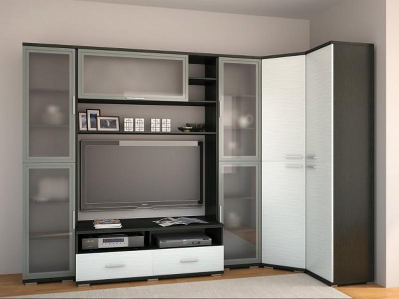 Гостиная мебель с угловым шкафом