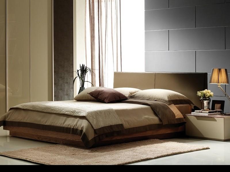 Интерьер спальни минимализм фото