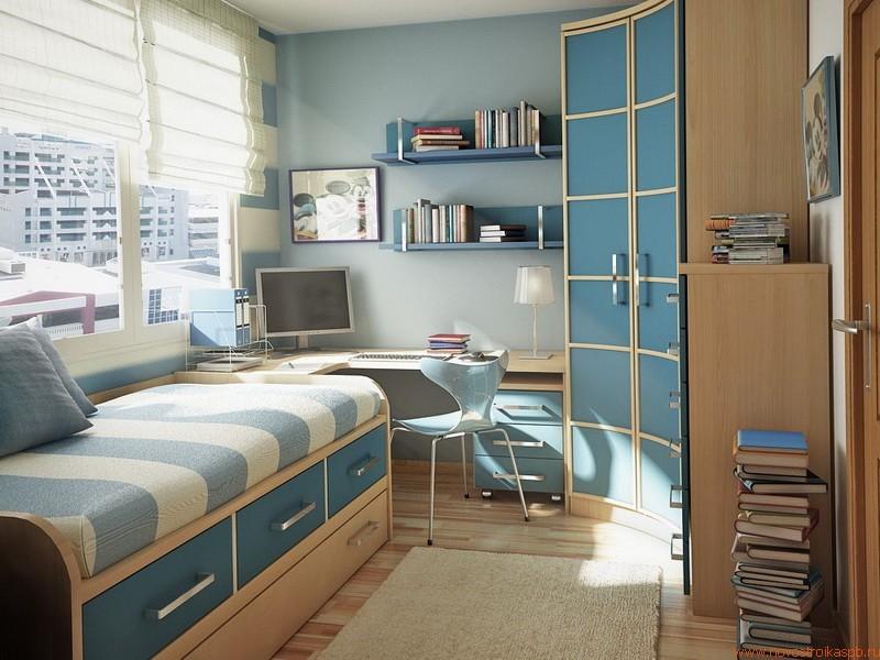 Современные комнаты для подростков
