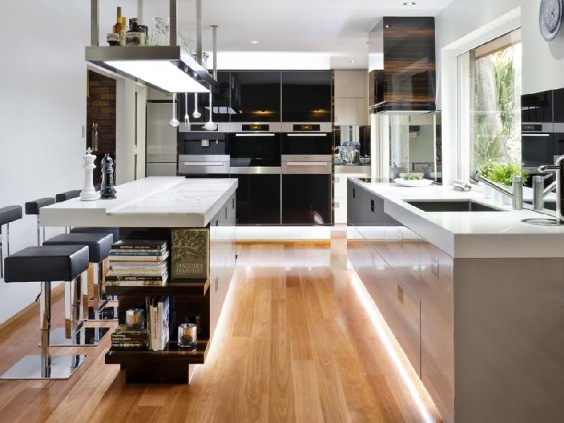 Мебель для кухни хай тек