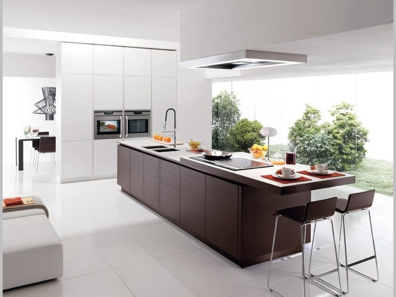 Интерьер кухня в стиле минимализм