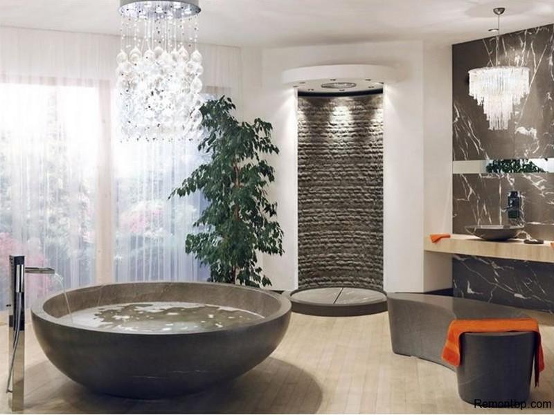 Дизайн ванная минимализм