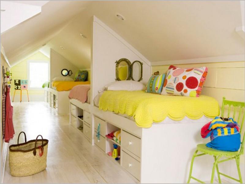Детская комната на даче дизайн