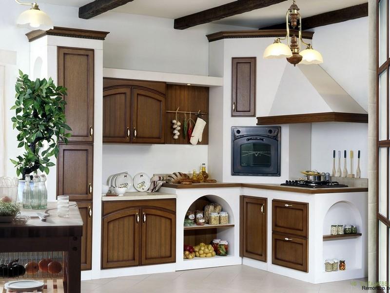 Мебель для кухни стиль Кантри