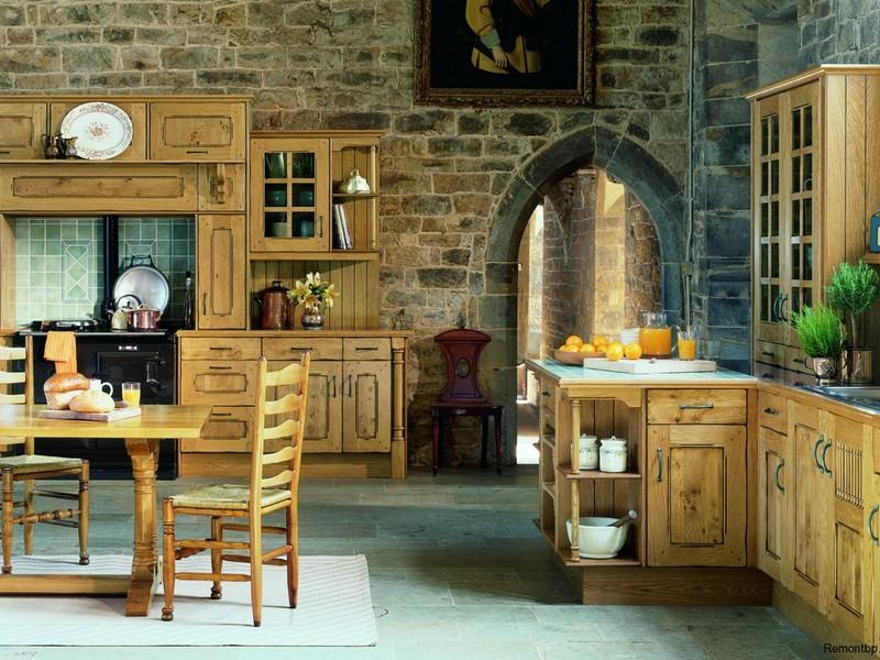 Деревянная мебель кантри