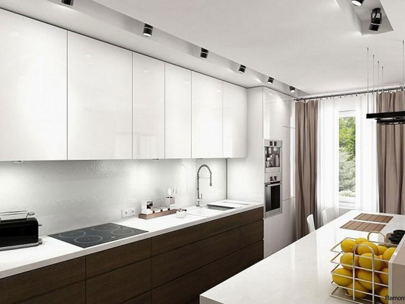 Обустройство кухни в стиле минимализм