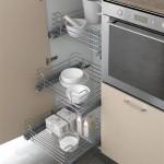 Функциональная мебель для кухни хрущевки