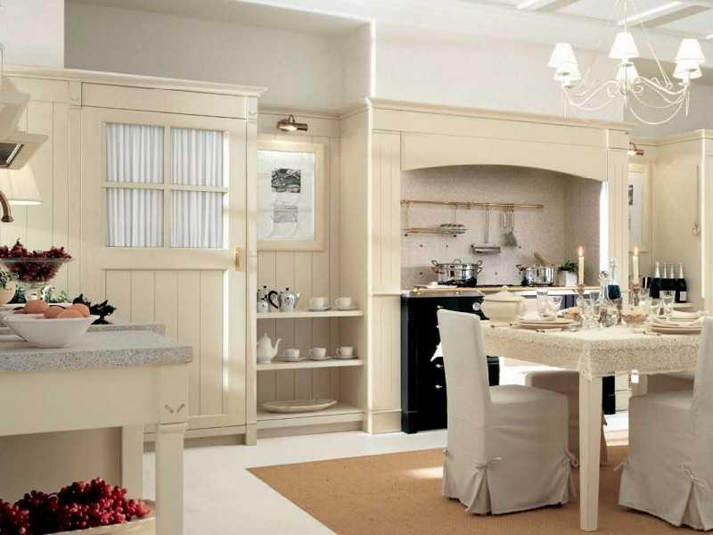 Дизайн кухни в Италии фото