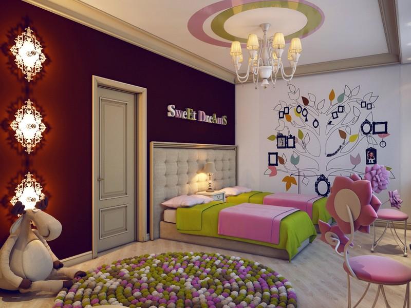 Кровать в детскую комнату девочки