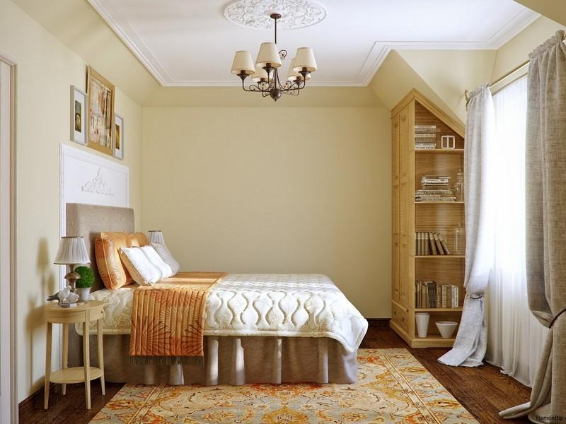 Кантри стиль спальня фото