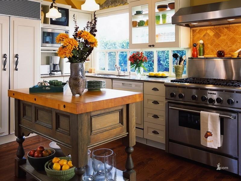 Кухонная мебель стиль Кантри