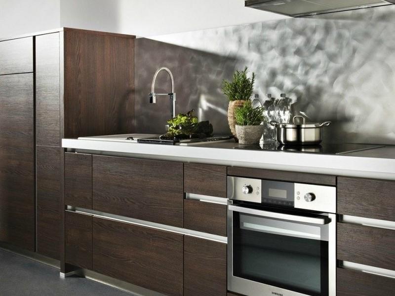 Оформление кухни в стиле минимализм