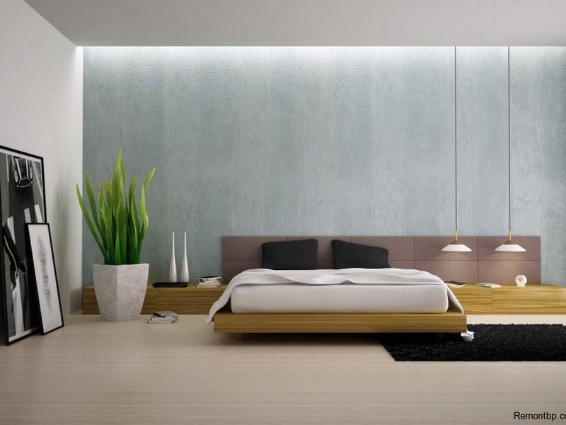 ото спальни минимализм