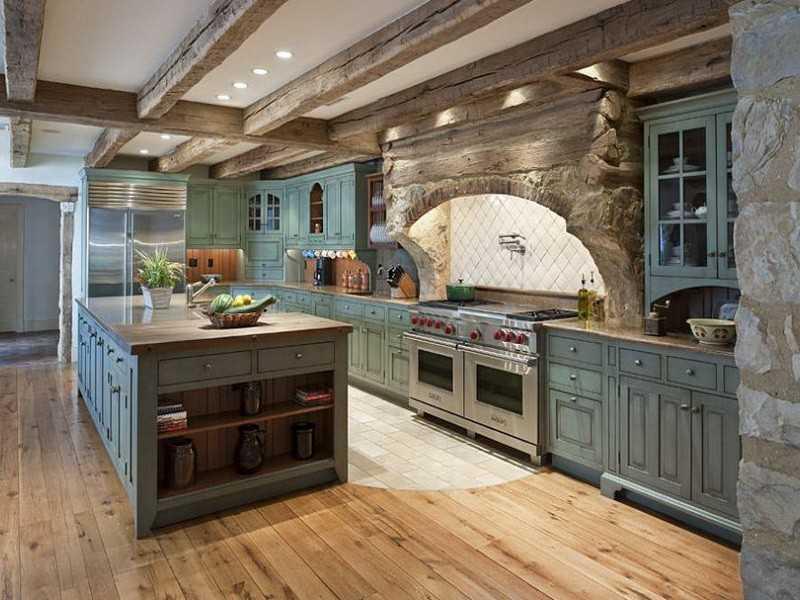 Дизайн кухни в Италии