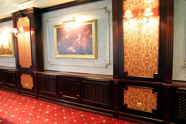 Деревянные стеновые панели фото