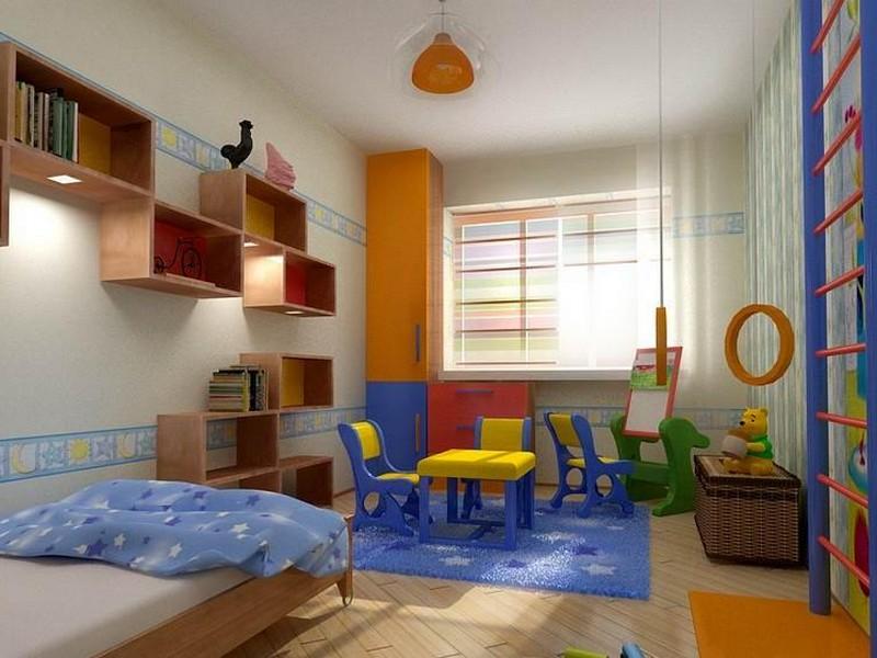 Маленькие детские комнаты для мальчиков