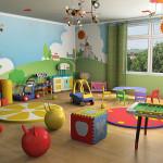 Интерьер игровой комнаты