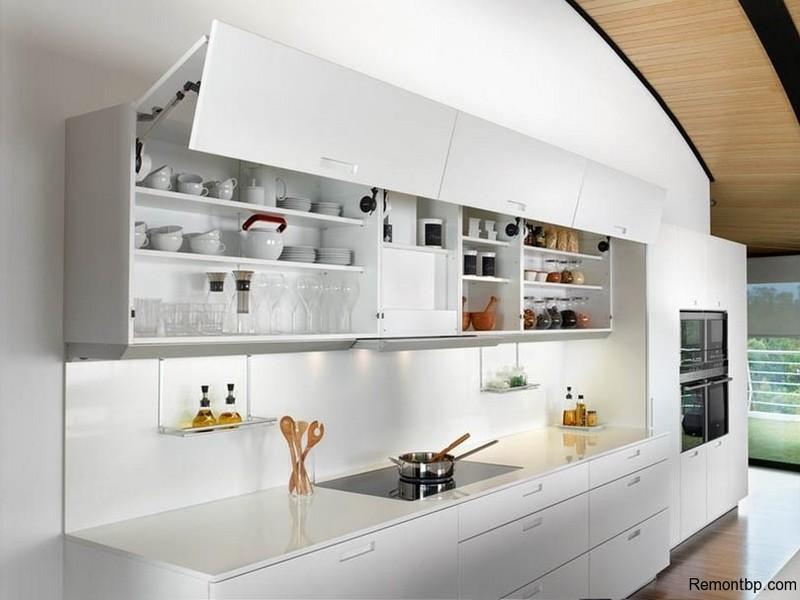 Оформление кухни в стиле минимализм фото