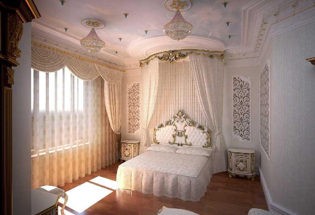 Интерьере спальной комнаты в итальянском стиле фото