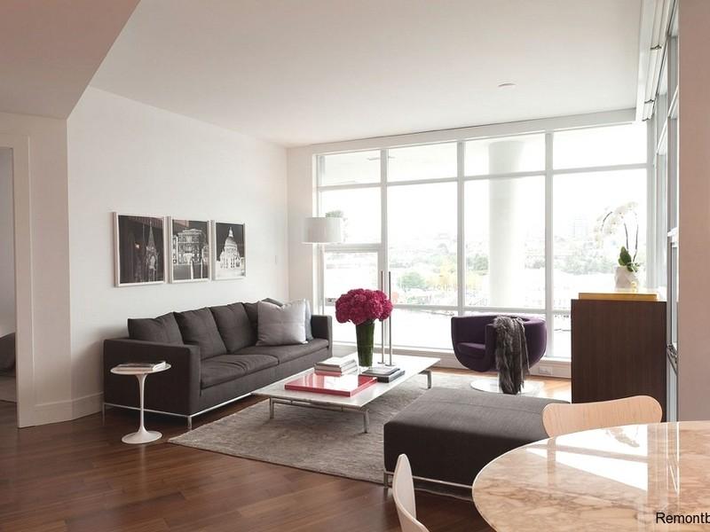 Мебель в гостиной минимализм