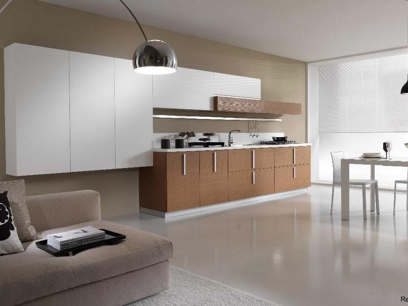 Меблировка кухни минимализм