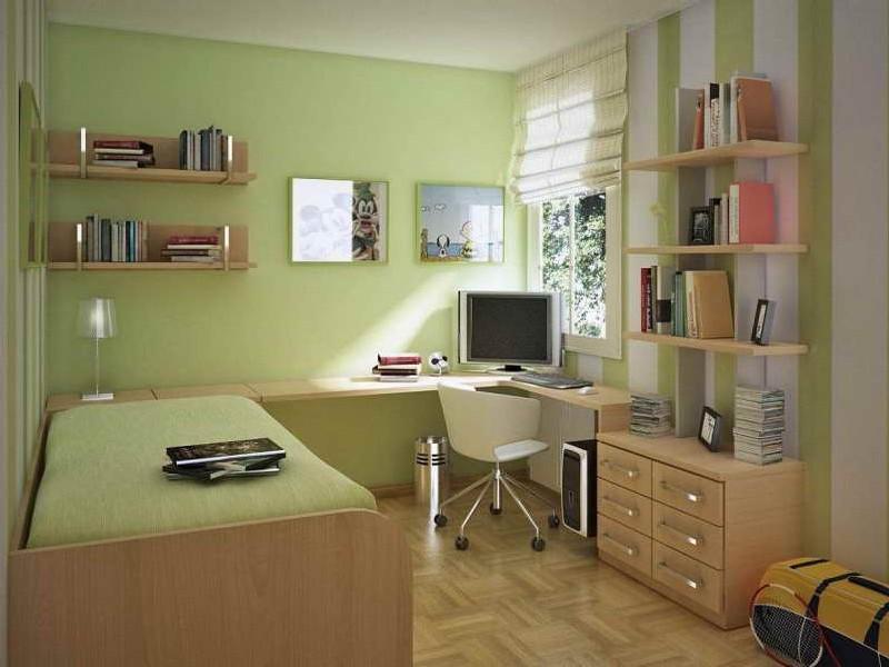 Проект комнаты для подростка