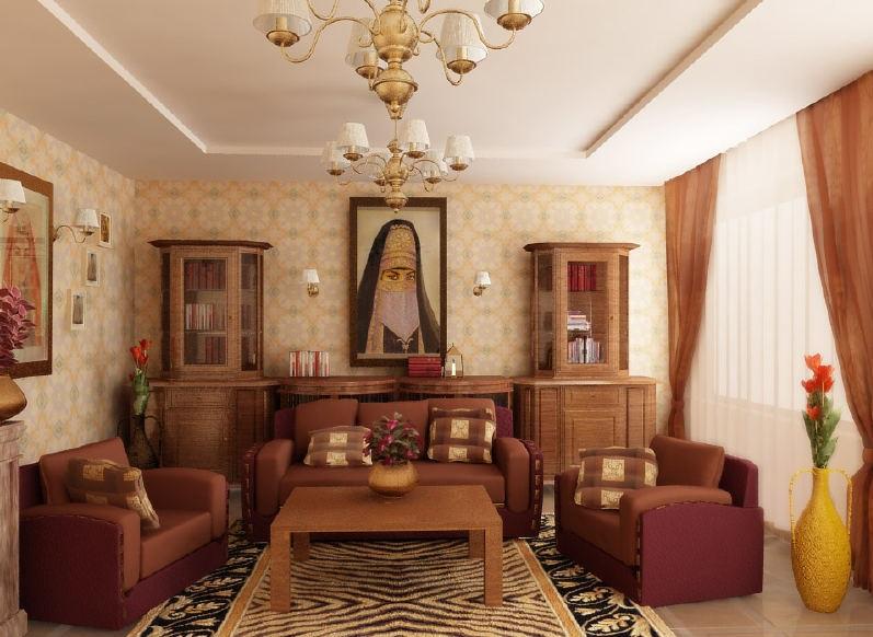 Египетский стиль в квартире