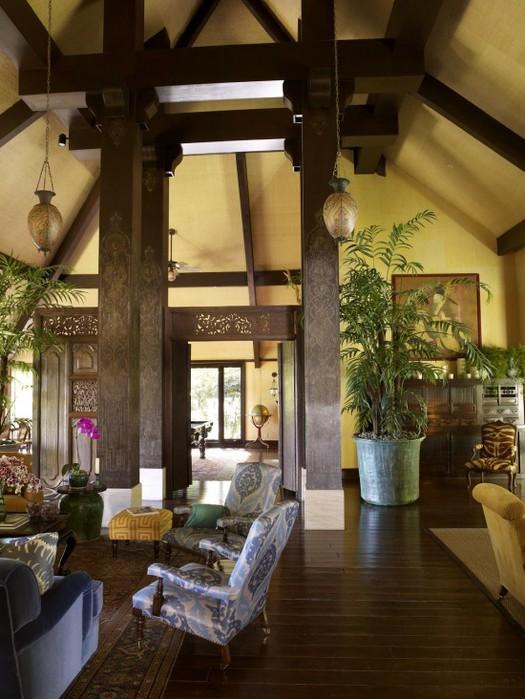 Индонезийский стиль в квартире
