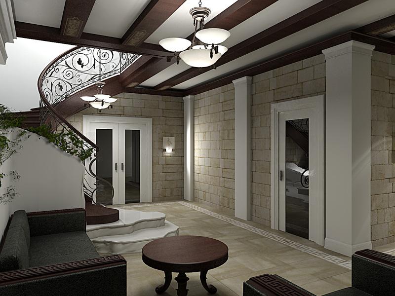 Романский стиль в квартире