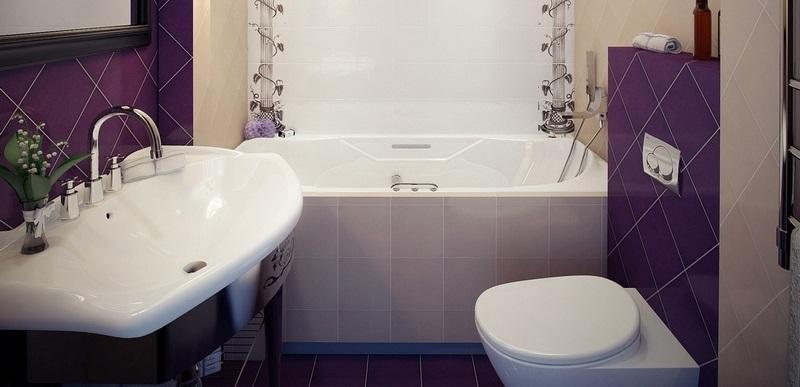 Модная мозаика для ванной