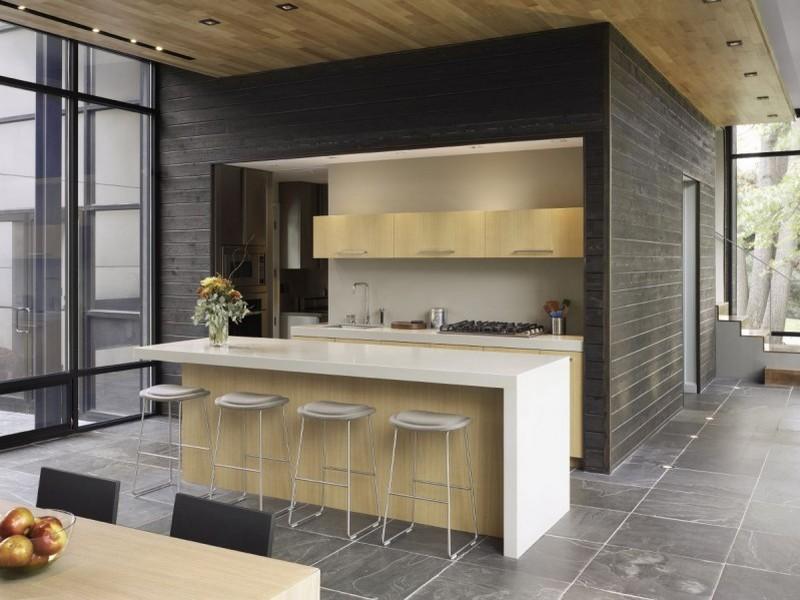 Квартира студия фото кухни