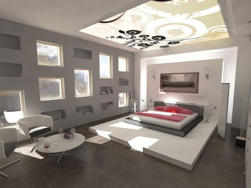 Фото дизайна спальни минимализм