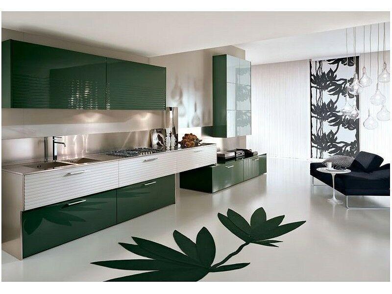 Фото кухни черты минимализма