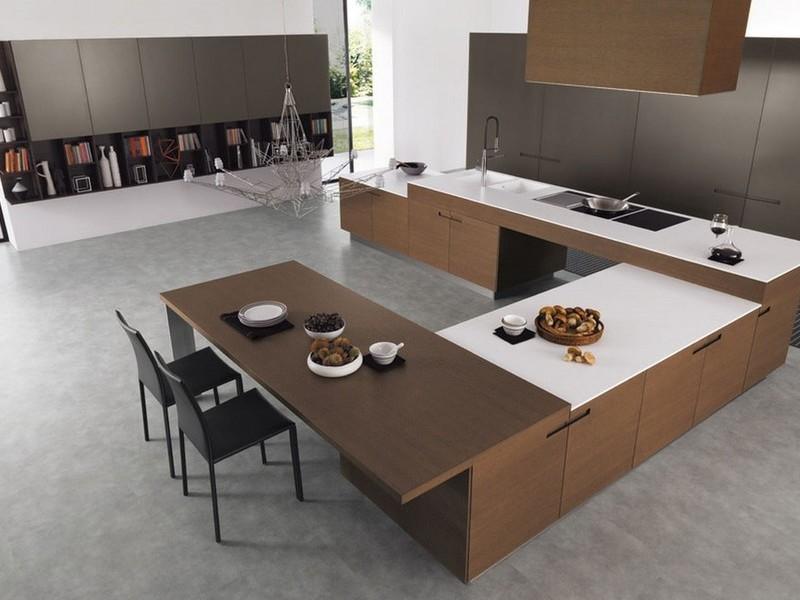 Кухня / мини столовая минимализм