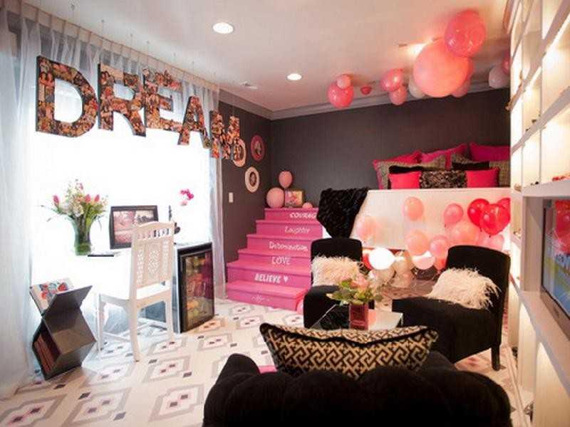 Примеры оформления комнаты для дочки